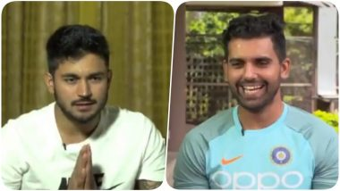 Shreyas Iyer, Shubman Gill, Manish Pandey and Deepak Chahar Talk About Favourite Emojis on World Emoji Day 2019 (Watch Video)